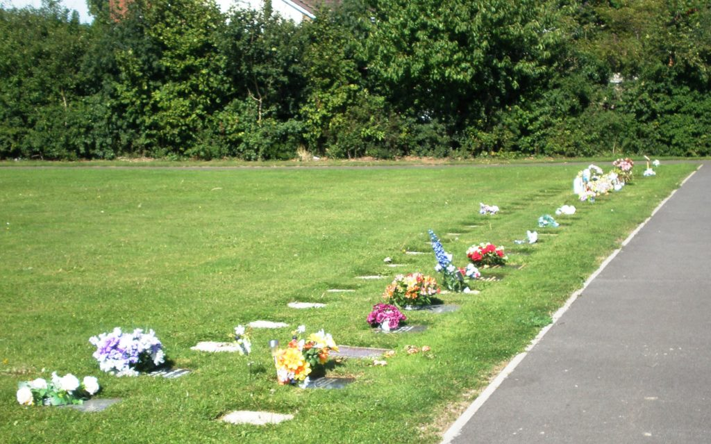 Lawn Cemetery - Ashes Section
