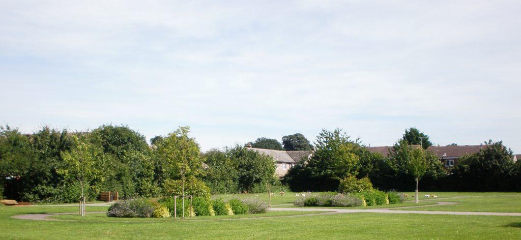 Lawn Cemetery Centre Planting Scheme